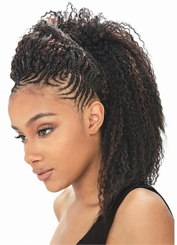 Best 66 of the best looking black braided hairstyles for 2020 Best Hair Braiding Styles Inspirations