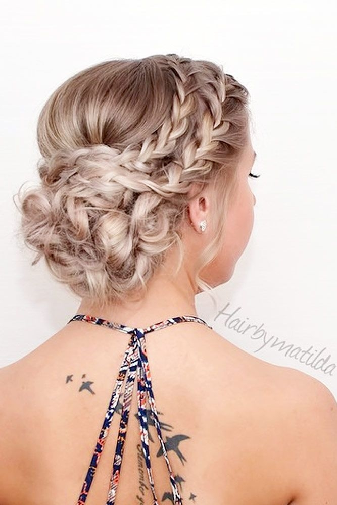 Best 68 stunning prom hairstyles for long hair for 2020 hair Prom Hairstyles For Long Hair Updos With Braids Inspirations