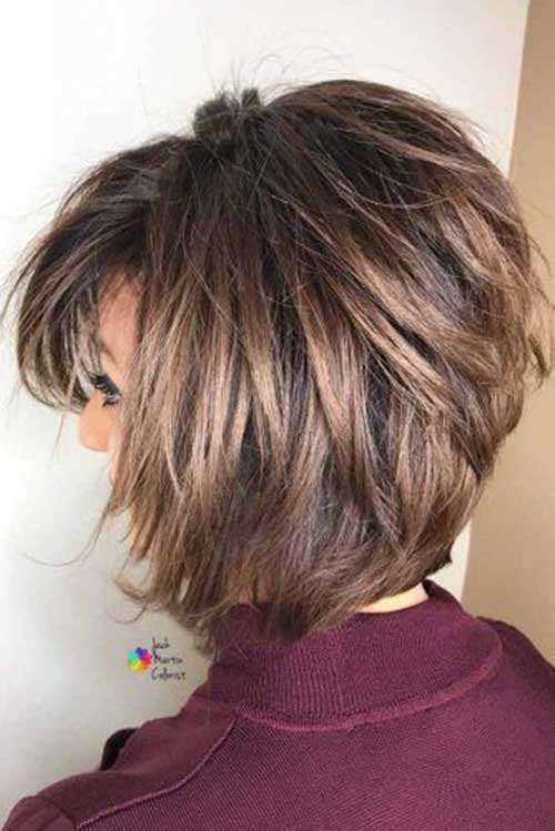 Best 70 best short layered haircuts for women over 50 short Short Hairstyles With Bangs And Layers Choices