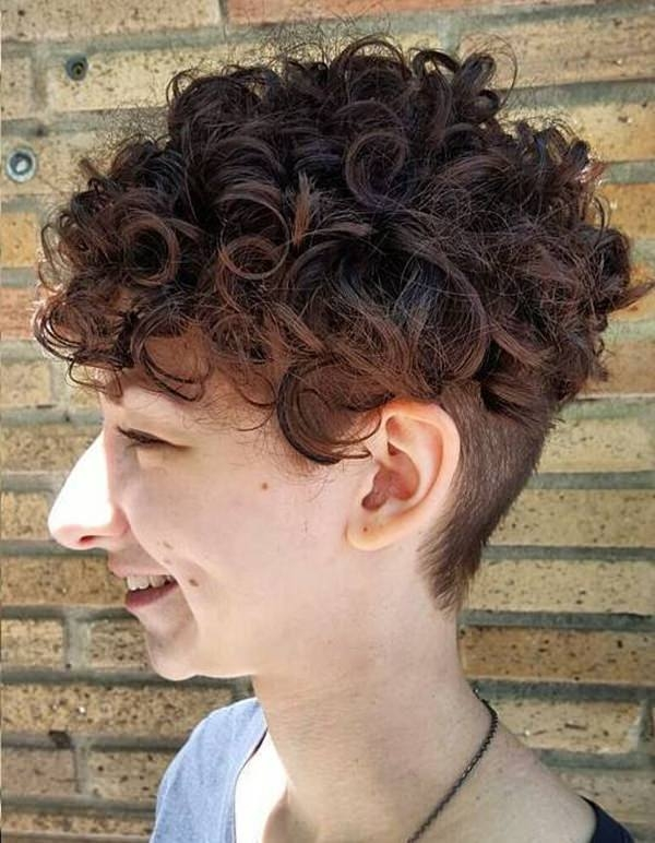 Best 70 of the most stylish short and curly hairstyles Best Way To Style Short Curly Hair Ideas
