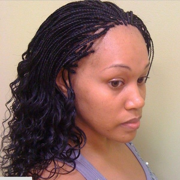 Best 77 micro braids hairstyles and how to do your own braids Micro Braids Hairstyles Pictures Ideas
