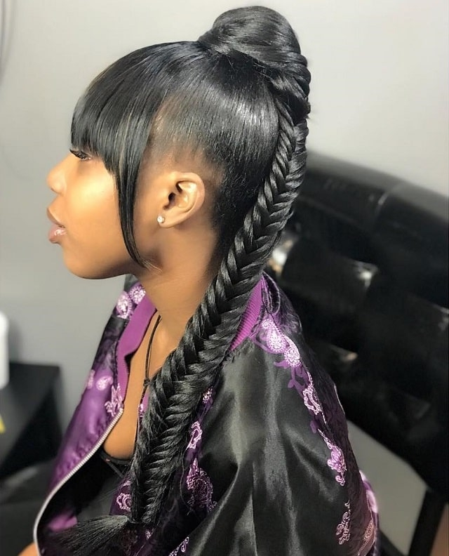 Best 85 hottest fishtail braid hairstyles for women Amazing Fishtail Braids Ever For African Hair Choices