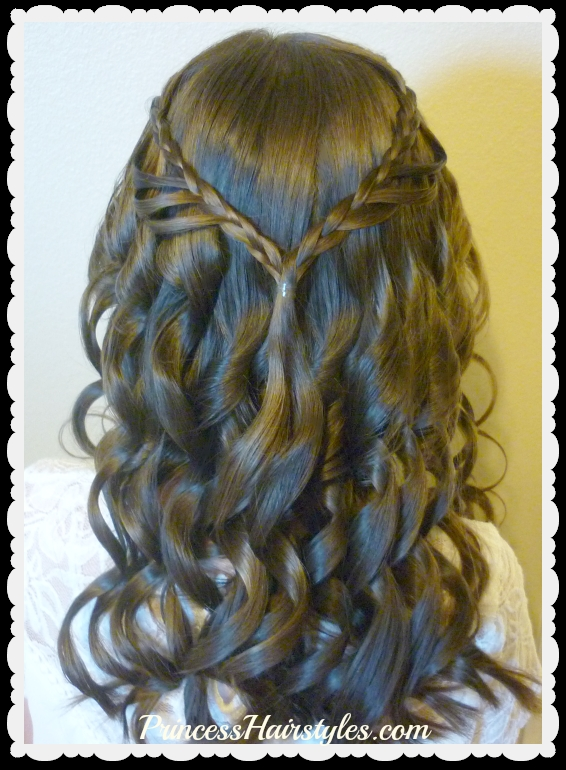 Best 8th grade dance hairstyle tutorial and dress princess Braided Hairstyles For School Dances Inspirations