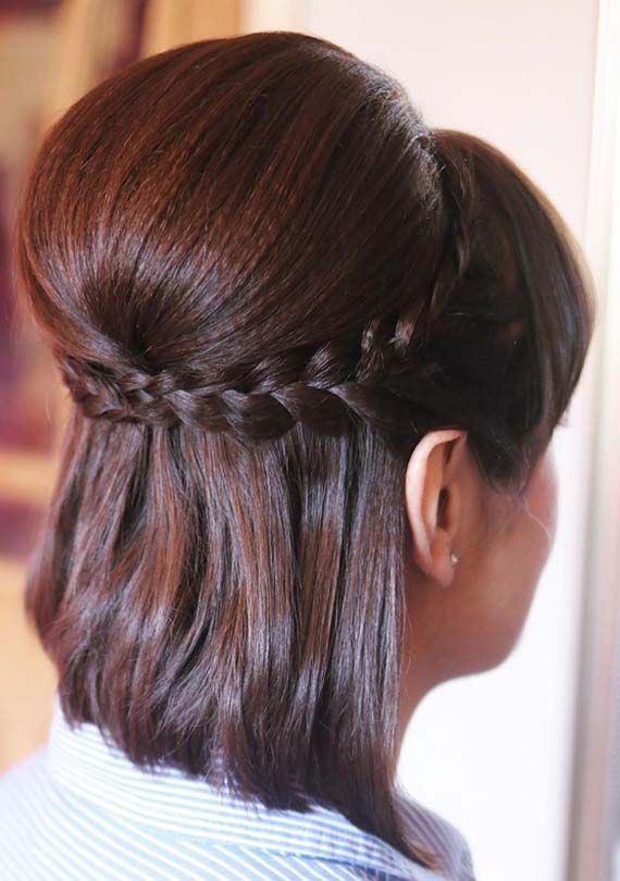 Best account suspended short wedding hair braids for short Short Hairstyles For Weddings Guests Inspirations
