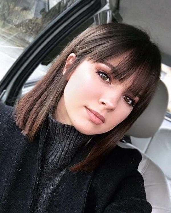 Best best hairstyles for short height girls in 2020 medium hair Cute Hairstyle For Short Hair With Bangs Choices