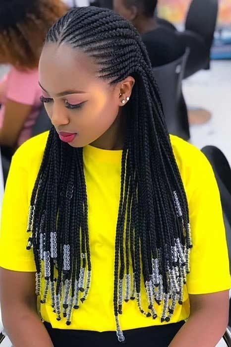 Best braid hairstyles with weave that will turn heads Marie'S African Hair Braiding Ideas