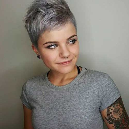Best chic short hair ideas for round faces Best Short Hairstyle For Round Face Inspirations