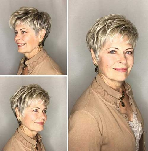 Best chic short haircuts for women over 50 Short Hairstyles For 55 Year Old Woman Inspirations