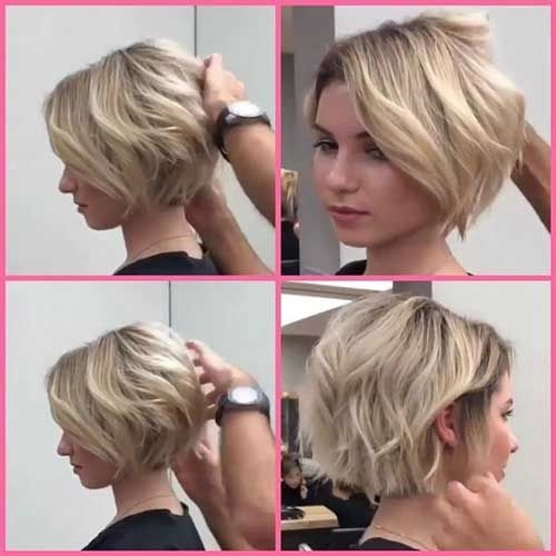 Best cute short hairstyles for round faces short hairstyles for Cute Short Haircuts For Thick Hair And Round Faces Choices