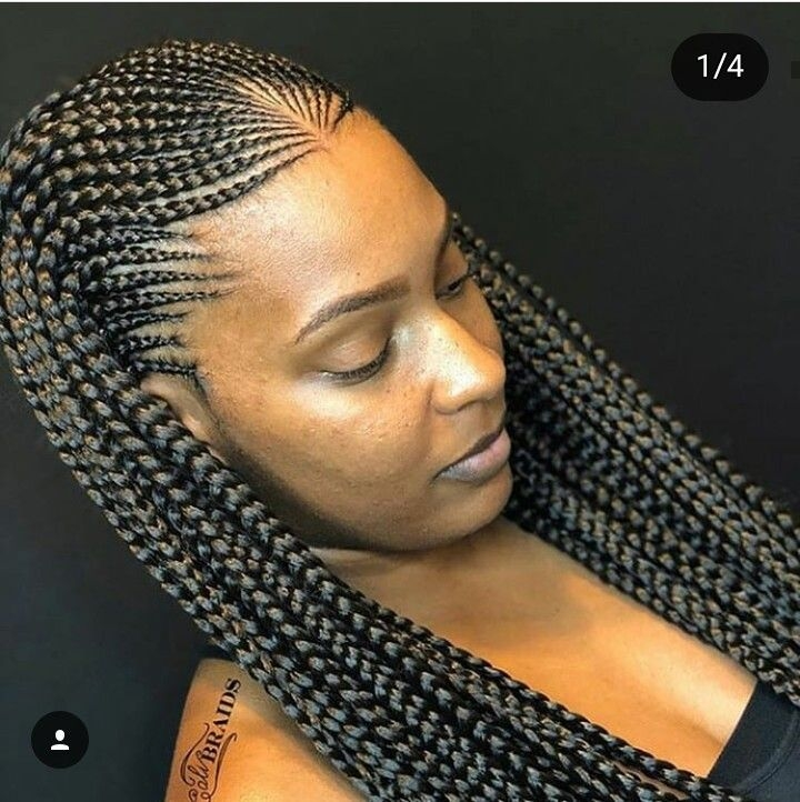 Best french braids hair styles african hair braiding styles French Braids Hairstyles For Black People Ideas