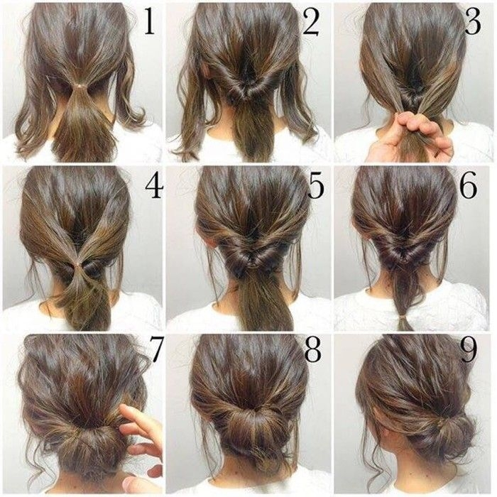 Best hair pictorial hair styles long hair styles short hair Easy Hairdos For Short Hair Pinterest Choices
