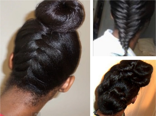 Best hairstyle ideas for long relaxed hair or flat ironed natural Hairstyles For Relaxed African American Hair