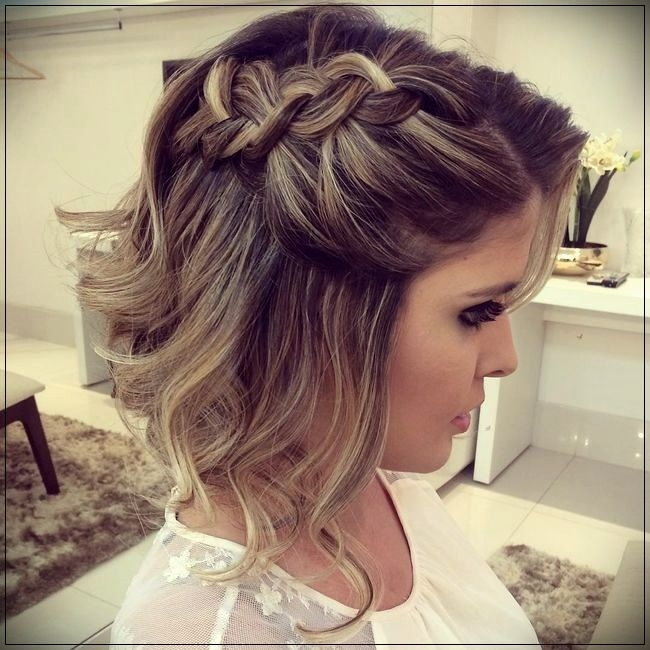 Best hairstyles for party 2019short and curly haircuts short Short Hair Updos For Wedding Guest Ideas