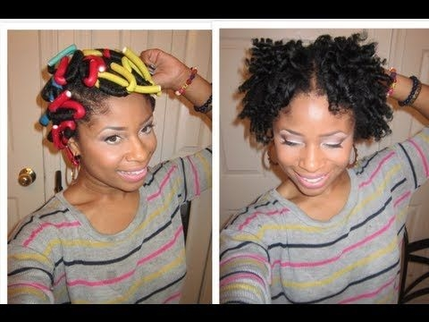 Best how to do a flexi rod set on short natural hair hair hair Flexi Rod Styles For Short Hair Inspirations