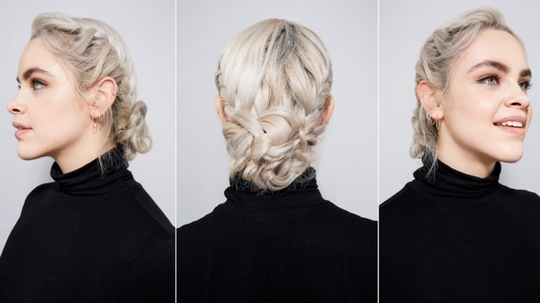 Best looking for an after hours updo learn how to master an elegant french braid bun French Braid Bun Hairstyles Tutorial Ideas