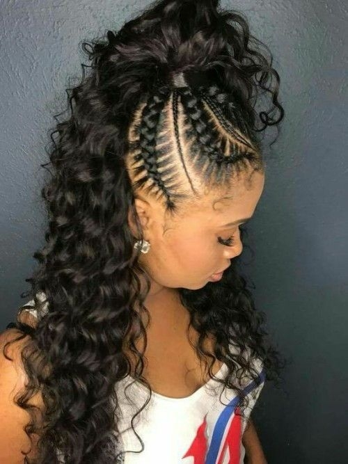 Best page not found curly craze braided hairstyles french French Braid African American Black Hair