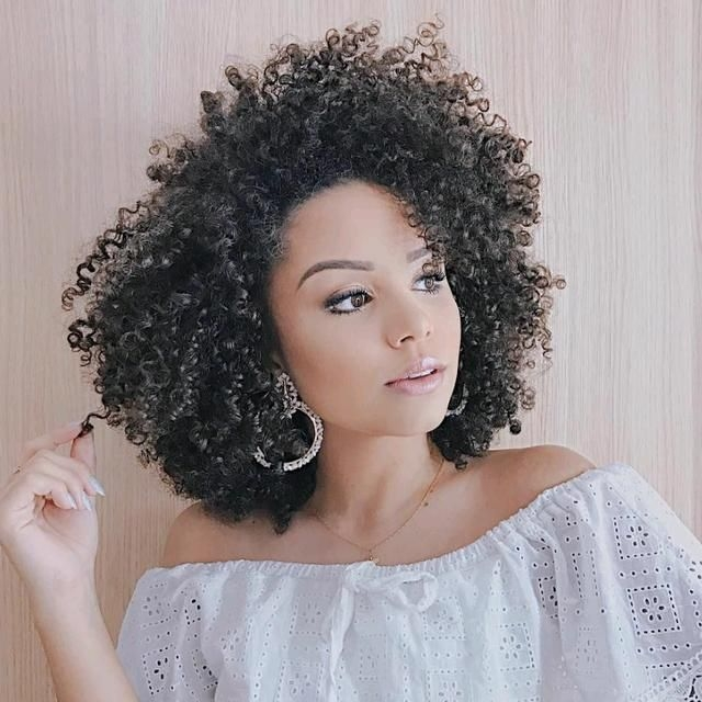 Best pin on grey hair transition African American Curly Hairstyles For Medium Length Hair