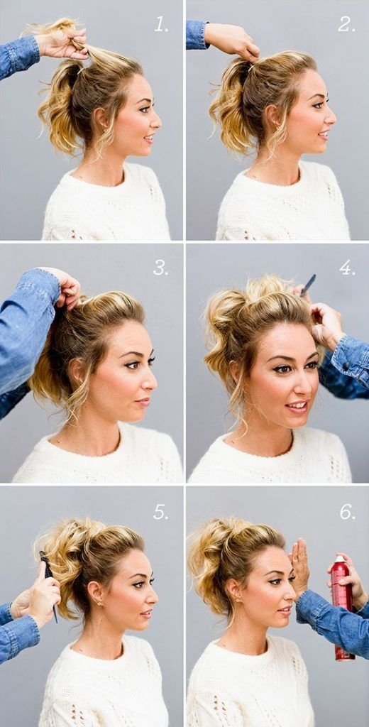 Best pin on hair and makeup Cute Ponytails For Short Hair For School Choices