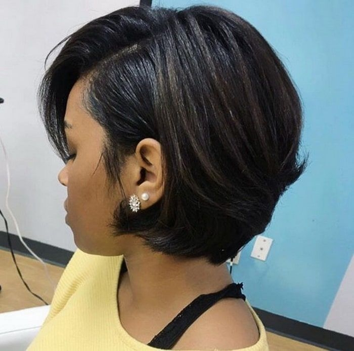 Best pin on hair colorstyles Short Bob Haircuts For Black Women Inspirations