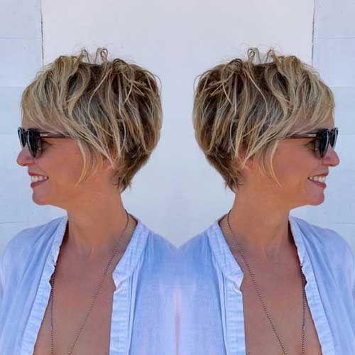 Best pin on hair Short Haircuts Older Women Ideas