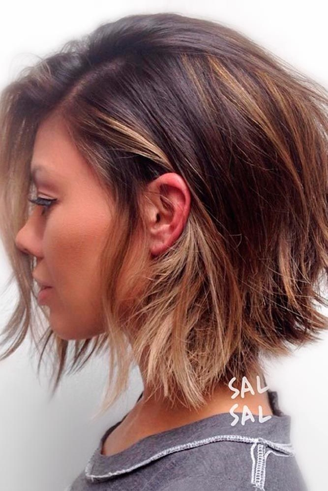 Best pin on hair Style Short Layered Hair Choices