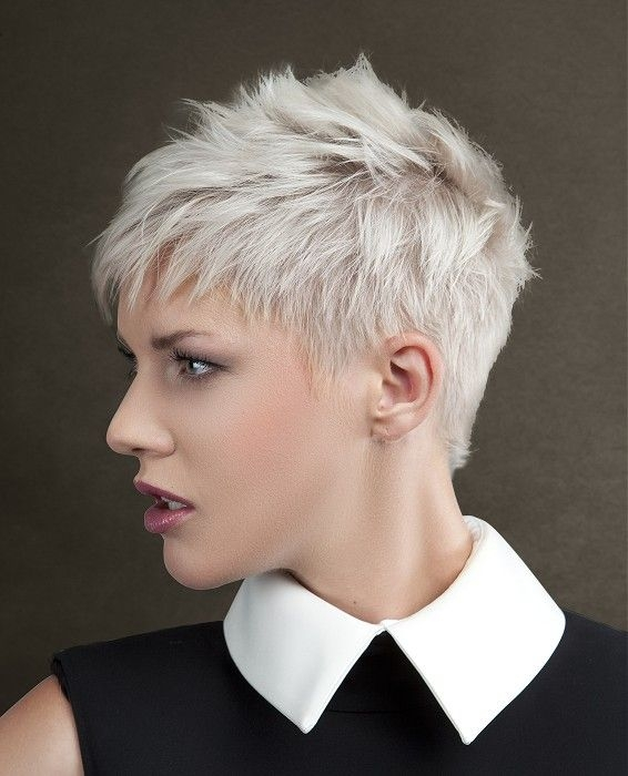 Best pin on haircuts Short White Hair Styles Choices