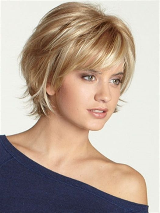 Best pin on popular hairstyles ideas Cute Hairstyles For Short Hair With Bangs And Layers Inspirations