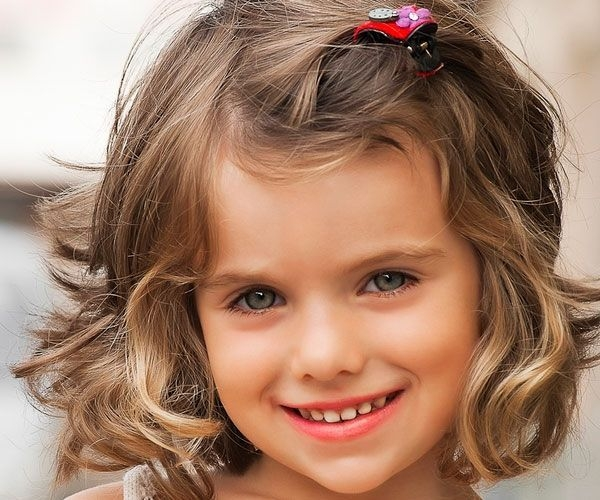 Best pin on quotes Cute Little Girl Hairstyles For Short Curly Hair Ideas
