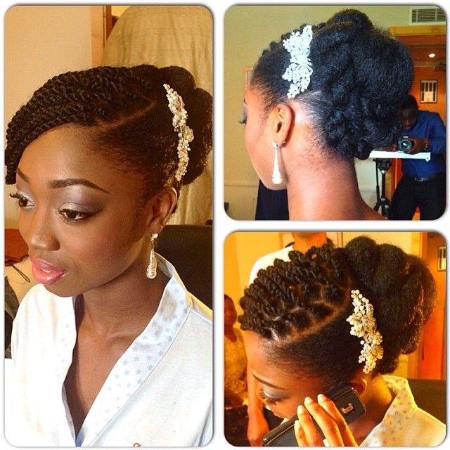 Best pin vanene nacelus on wedding styles in 2020 natural Wedding Hairstyles Natural African American Hair Designs