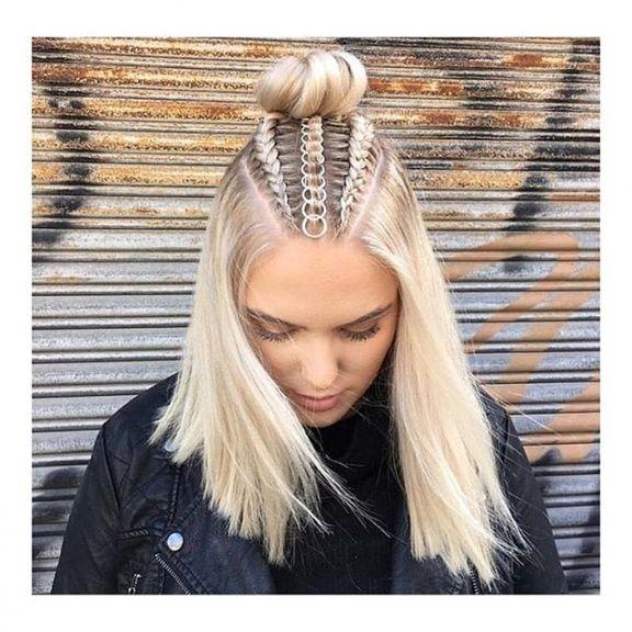 Best platinum blonde dutch braids tumblr hair tumblr braids Hair Braid Styles Tumblr Ideas