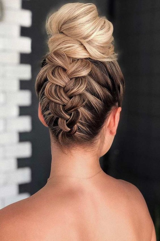 Best prom hairstyles for medium hair Prom Updos For Medium Hair With Braids Choices
