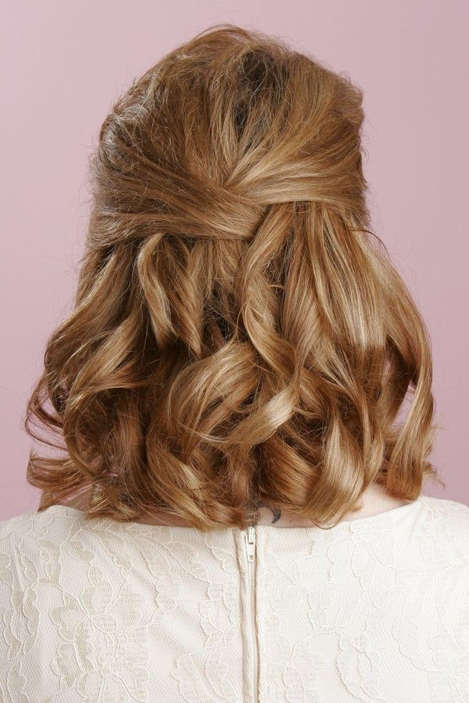 Best prom hairstyles for short hair half up half down hairstyles Prom Hairstyles For Short Hair Half Up Half Down Curly Ideas