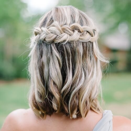 Best rock prom night with these 50 cool as you can get hairstyles Short Hair Tutorial For Prom Choices