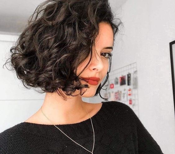 best short curly hairstyles youll fall in love with Curly Hairstyles Short Choices