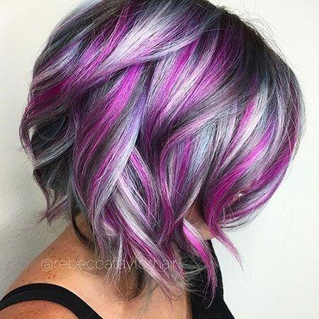 Best short cute color hair hair styles hair color crazy Dye Short Hair Styles Inspirations