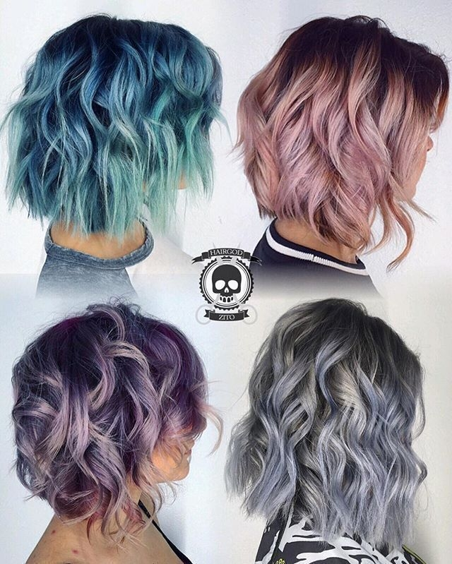 best short hair color ideas hairstyles fashion and Short Colored Haircuts Inspirations