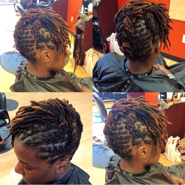 Best short locs style of the week short locs hairstyles hair Lock Styles For Short Hair Inspirations