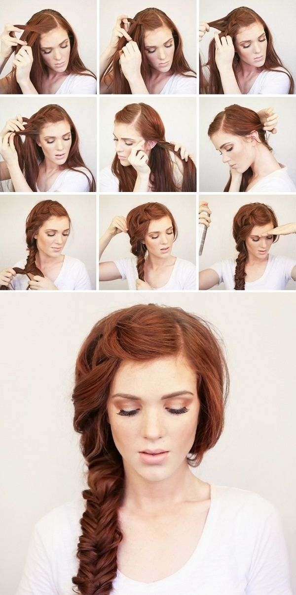 Best summer side braid hair styles festival hair long hair styles Hair Braid Styles Tutorial Choices