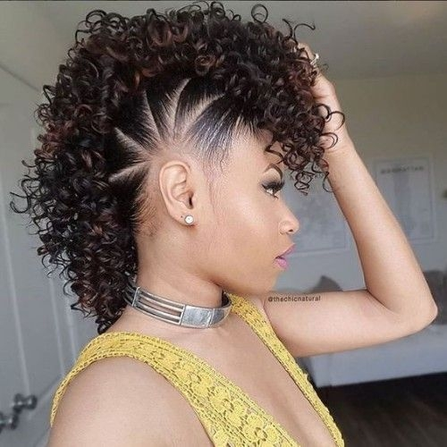 Best superb female mohawk hairstyles for black women new Mohawk Hairstyles African American Women