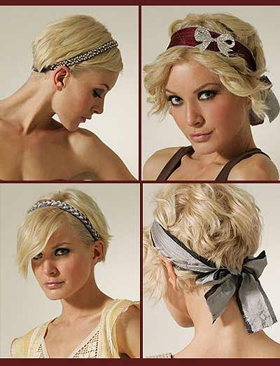 Best sweet hair accessory ideas for short hair Fascinators For Short Hair Styles Inspirations