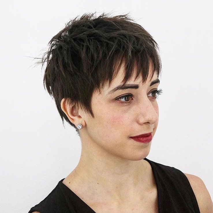 Best the 15 best short hairstyles for thick hair trending in 2020 Short Haircut Styles For Thick Straight Hair Choices
