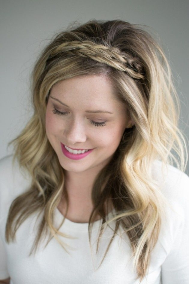 Best the double braided headband 2 ways to style it braided Braided Hair Band Styles Choices