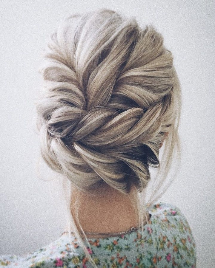 Best this beautiful wedding hair updo hairstyle will inspire you Braided Hair For Bridesmaids Choices