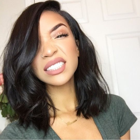 Best top 10 graphic of shoulder length weave hairstyles james Hairstyles For Medium Length Relaxed African American Hair Designs