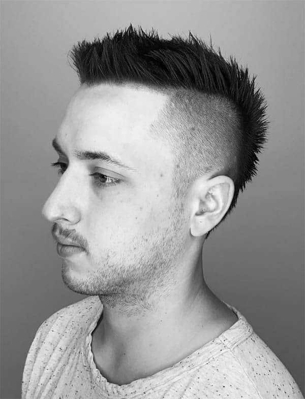 Best top 41 punk hairstyles for men 2020 choicest collection Punk Hairstyles For Short Hair For Guys Choices