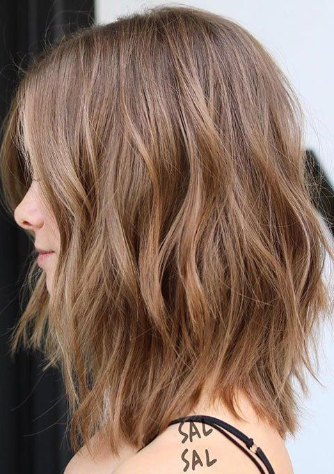Best trendy brown hairstyles and haircuts ideas in 2019 long Light Brown Short Hair Styles Ideas