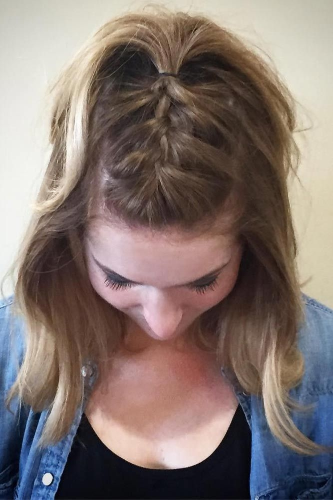 Best updos for short hair that will impress with their elegance Easy Updos For Short Hair Casual Ideas