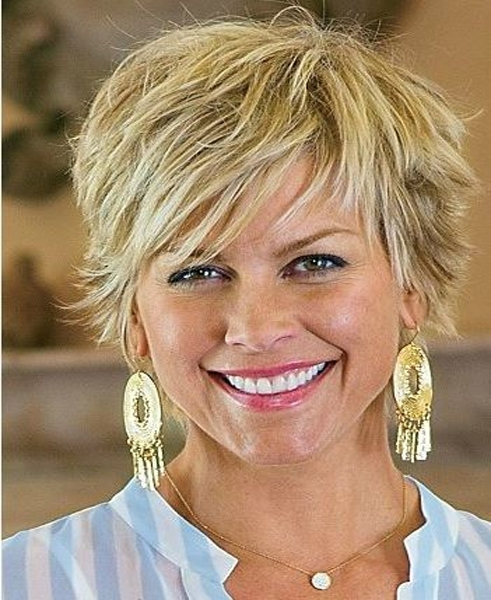 Best women hairstyle 2016 short shaggy haircuts for women full dose Short Shaggy Haircuts For Older Women Ideas