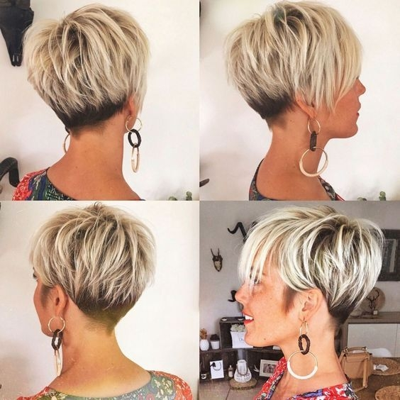 black and blonde pixie for fine hair in 2020 short hair Short Fine Hair Styles Choices