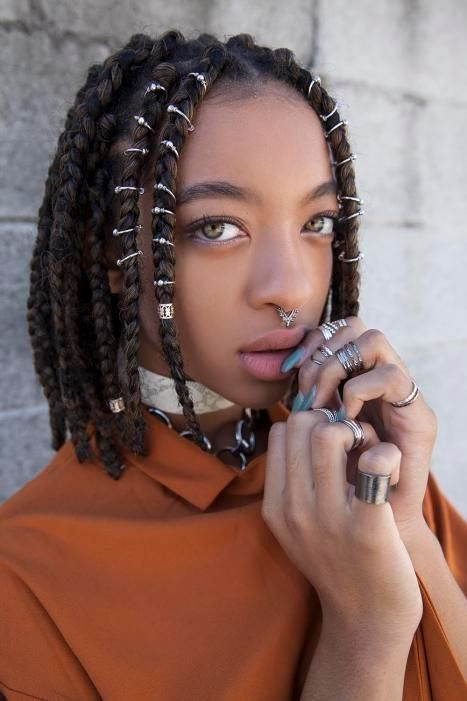 braid hairstyles for black women 8 ways to wear box braids African American Box Braid Hairstyles